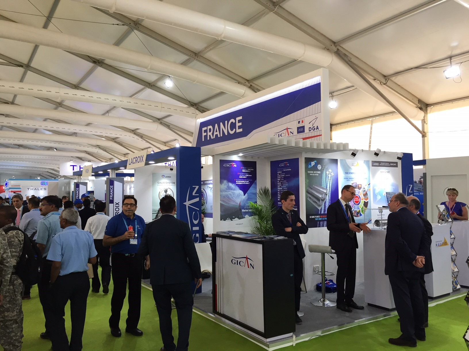 2018 04 13 - DEFEXPO 2018 French Pavilions